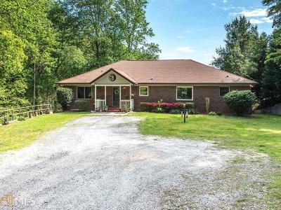 Dawsonville Single Family Home For Sale: 215 Woodland Cir
