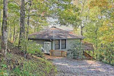 Rabun County Single Family Home Under Contract: 1176 Ridgepole Dr #39