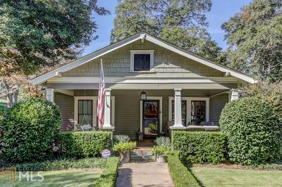 Smyrna Single Family Home Under Contract: 3070 SE Dunn St