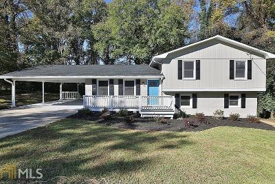 Smyrna Single Family Home Under Contract: 205 Plantation Rd
