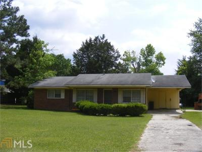 Brooklet Single Family Home For Sale: 7450 Stilson Leefield