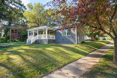 Sylvan Hills Single Family Home Under Contract: 1507 Melrose