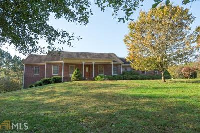 Dawsonville Single Family Home Under Contract: 895 Shoal Creek Rd