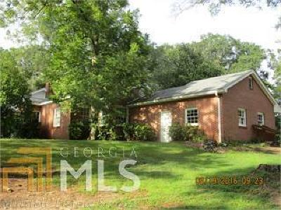 Haddock, Milledgeville, Sparta Single Family Home New: 801 Nelson Rd