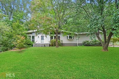 Decatur Single Family Home Under Contract: 2760 Millwood Ct