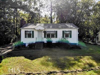 Marietta Single Family Home Under Contract: 1282 Andrews Dr