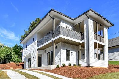 Grant Park Single Family Home For Sale: 788 Mercer St