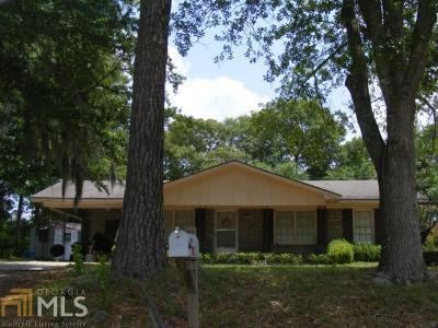 Brooklet Single Family Home For Sale: 143 Lee Ave