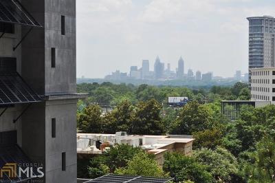 Condo/Townhouse For Sale: 3040 Peachtree Rd #504