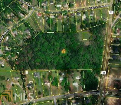 Loganville Residential Lots & Land New: Highway 81