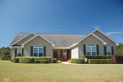 Statesboro Single Family Home For Sale: 2810 Rusty Rd