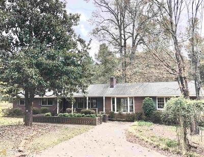 Jefferson Single Family Home For Sale: 1190 Academy Church Rd
