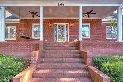 Lawrenceville Single Family Home For Sale: 866 Lawrenceville Hwy