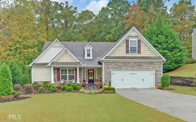 Flowery Branch  Single Family Home New: 5491 Mulberry Preserve
