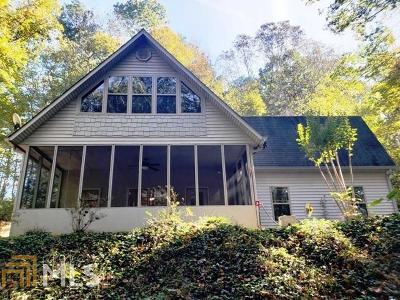 Habersham County Single Family Home New: 1801 Charlie Davis Rd