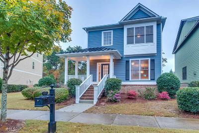 Suwanee Single Family Home New: 810 Village Field Ct