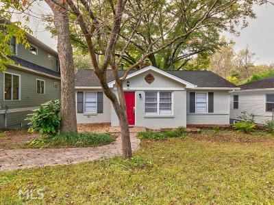 Ormewood Park Single Family Home Under Contract: 1245 Woodland Ave