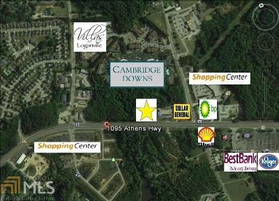 Loganville Residential Lots & Land For Sale: 1095 Athens Hwy