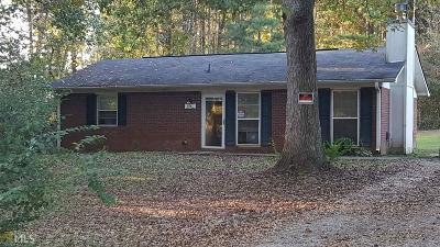 Newnan Single Family Home Under Contract: 3581 Corinth Rd