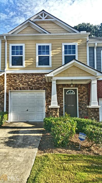 Lawrenceville Condo/Townhouse Under Contract: 1718 Arbor Gate Dr