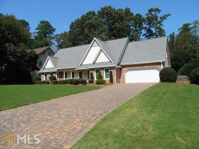 Roswell Single Family Home New: 10500 Turner