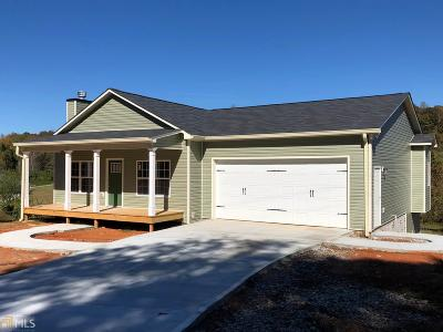 Dahlonega Single Family Home Under Contract: 1603 Mount Olive Church Rd #6