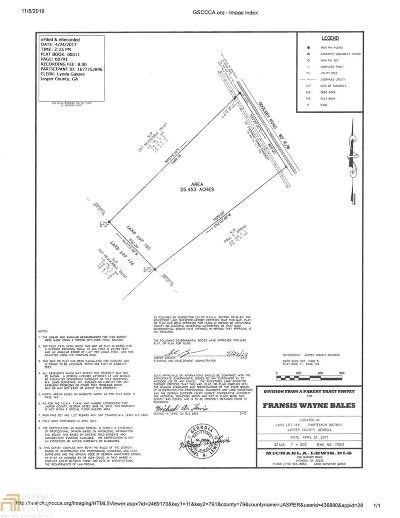 Monticello Residential Lots & Land For Sale: Goolsby Rd