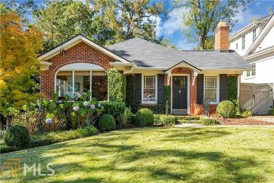 Atlanta Single Family Home For Sale: 2188 Willow Ave