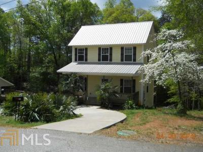 Habersham County Single Family Home Under Contract: 201 Kimsey
