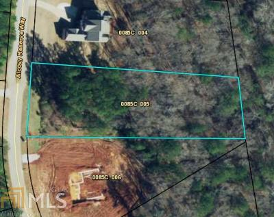 Covington Residential Lots & Land New: 75 Alcovy Reserve Way