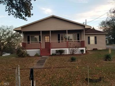 Banks County Single Family Home For Sale: 105 Landrum St