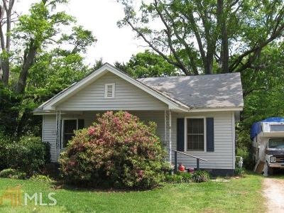 Griffin Single Family Home Under Contract: 328 Main St