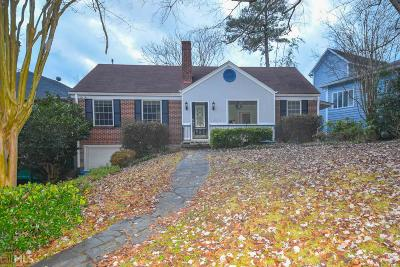 Piedmont Heights Single Family Home For Sale: 567 Pelham Rd