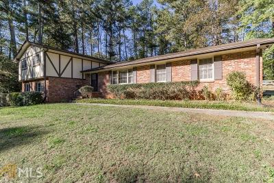 Stone Mountain Single Family Home Under Contract: 4924 Mountclaire Rd