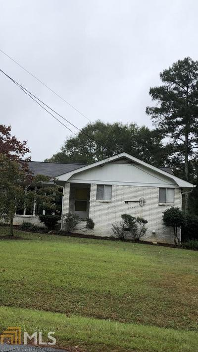 Austell Single Family Home Under Contract: 5195 Jones Rd