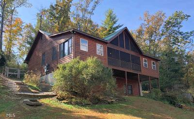 Rabun County Single Family Home Under Contract: 220 Gentry Ln #c2