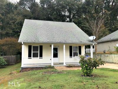 Henry County Single Family Home Under Contract: 138 Glynn Addy Dr