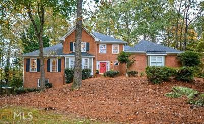 Suwanee Single Family Home New: 112 Oakwood Hills Dr