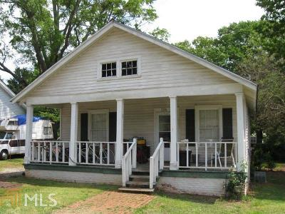 Griffin Single Family Home Under Contract: 326 Main St