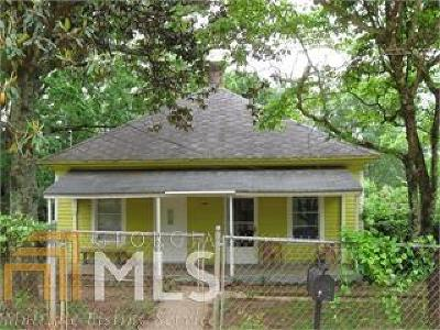 Griffin Single Family Home Under Contract: 108 Elm St