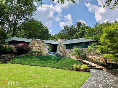 Buckhead Single Family Home For Sale: 3905 Parian Ridge Rd