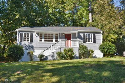 Sylvan Hills Single Family Home Under Contract: 781 Bridgewater St