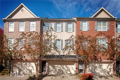 Norcross Condo/Townhouse For Sale: 3265 Greenwood Oak Dr