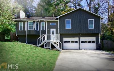 Marietta Single Family Home Under Contract: 4865 Chapelle Ct
