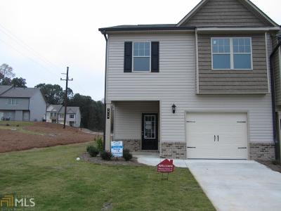 Winder GA Condo/Townhouse New: $180,900