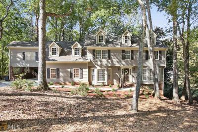 Roswell Single Family Home New: 255 Waverly Hall Dr