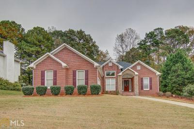Conyers Single Family Home Under Contract: 3131 Scenic Brook Dr