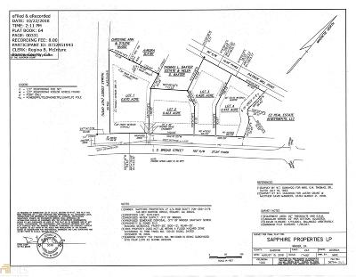 Winder GA Residential Lots & Land New: $239,990