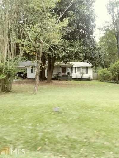 Decatur Single Family Home New: 3446 Waldrop Rd