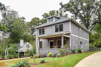 Atlanta Single Family Home New: 2252 Ridgedale Rd